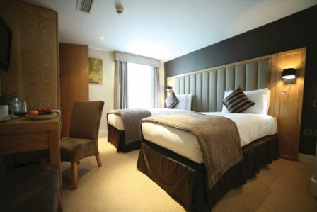 Twin Bedroom at Best Western The Boltons Hotel London Kensington