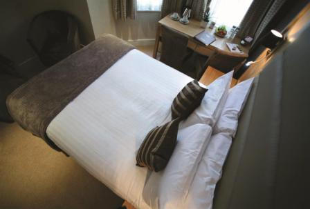 Double Bedroom at Best Western The Boltons Hotel London Kensington